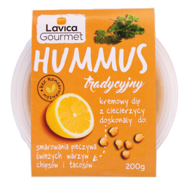 Hummus Tradycyjny 200g Lavica Gourmet