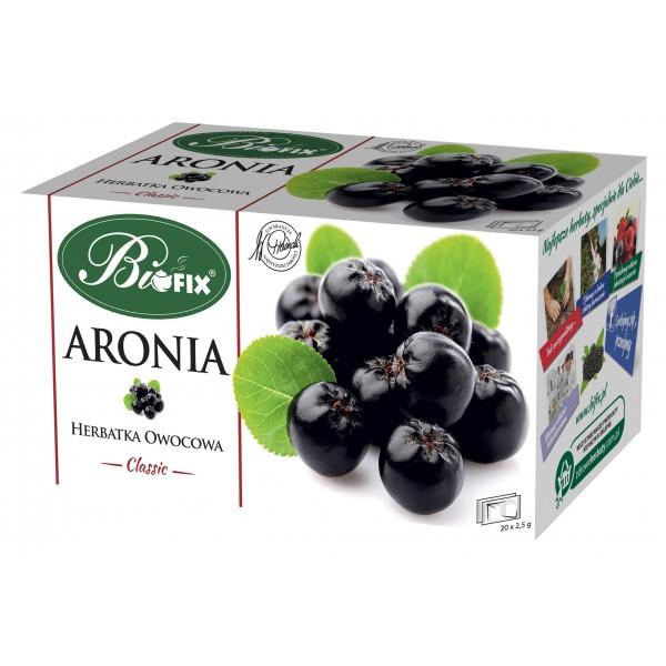 Bi FIX Classic ARONIA Herbatka owocowa ekspresowa 20 x 2,5 g