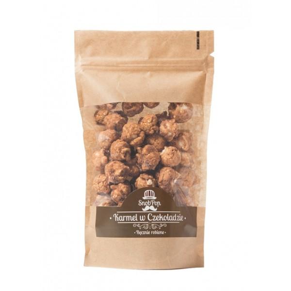 SnobPop popcorn Karmel w czekoladzie 100g