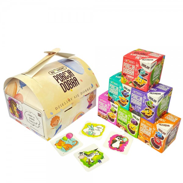Porcja Dobra Kuferek Dziecięcy 350g (zestaw prezentowy)