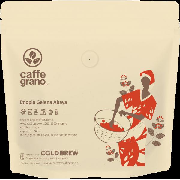 Caffe Grano Etiopia Gelena Abaya  - kawa specialty 250g
