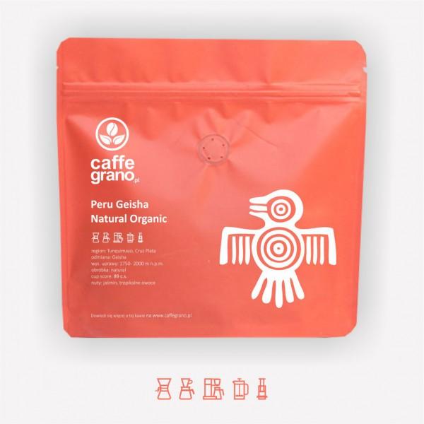 Caffe Grano Peru Geisha Natural Organic – kawa specialty MICROLOT 250g