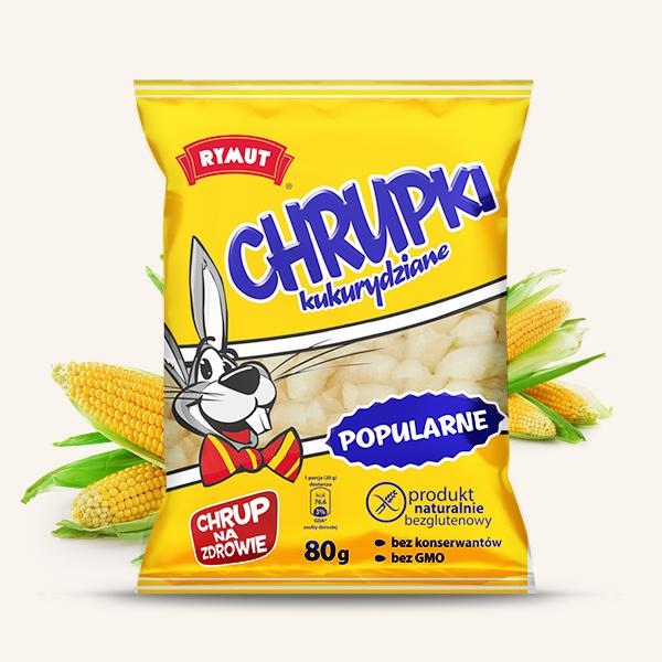Rymut Chrupki kukurydziane Popularne 80g