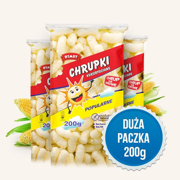 Rymut Chrupki kukurydziane Popularne 200g