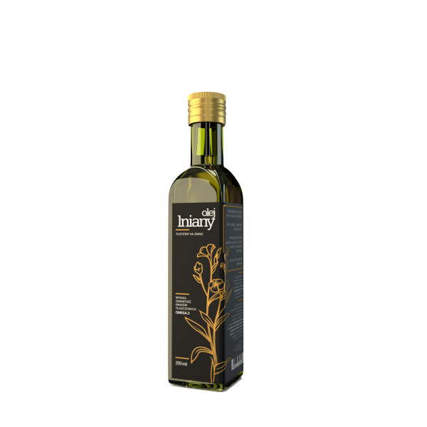 Oil-Cos Olej lniany nierafinowany 250 ml