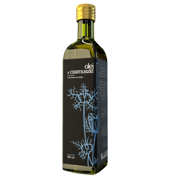 Oil-Cos Olej z czarnuszki nierafinowany 500 ml