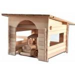 TimberFan Garaż małe klocki drewniane