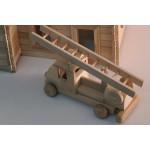 TimberFan Mini Straż Pożarna w stylu retro