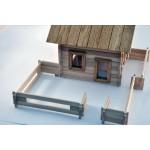 TimberFan Ogrodzenie małe klocki drewniane