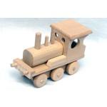 TimberFan Pociąg - lokomotywa + 3 wagony