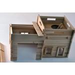 TimberFan Remiza mała z tarasem obserwacyjnym małe klocki