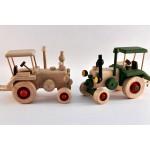 TimberFan Traktor 3 z litego drewna