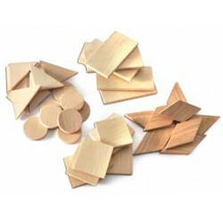 TimberFan Geometryczna układanka z litego drewna