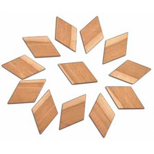 TimberFan Romby układanka z litego drewna