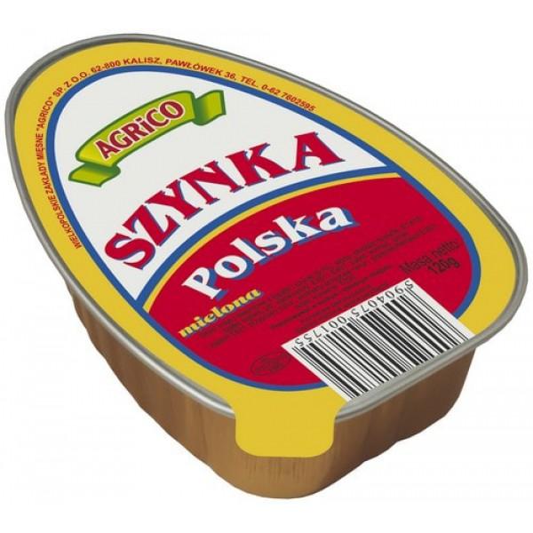 Agrico OWALNA SZYNKA POLSKA 120g 45 sztuk