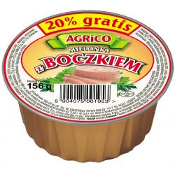 Agrico MIELONKA Z BOCZKIEM 156g 36 sztuk