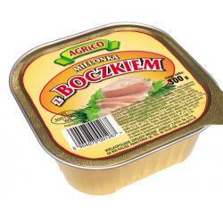 Agrico KWADRATOWA MIELONKA Z BOCZKIEM 300g 30 sztuk