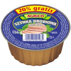 Agrico SZYNKA DROBIOWA 156g 36 sztuk