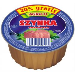 Agrico SZYNKA MIELONA WIEPRZOWA 156g 36 sztuk