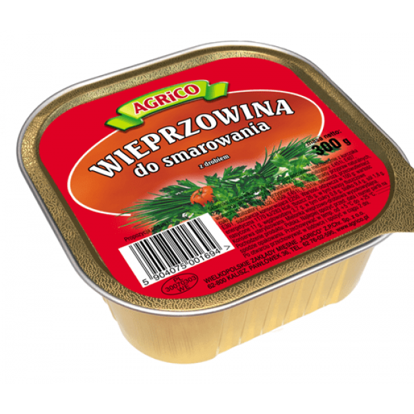 Agrico KWADRATOWA WIEPRZOWINA DO SMAROWANIA 300g 30 sztuk