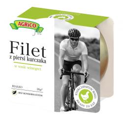 Agrico FILET Z KURCZAKA W SOSIE WINEGRET 160g 18 sztuk
