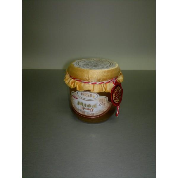 Pasieka Pucer Miód nektarowy lipowy 250g 1 szt.