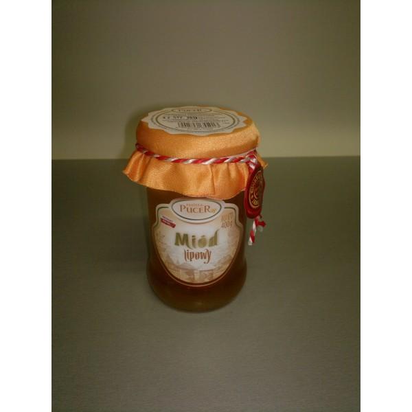 Pasieka Pucer Miód nektarowy lipowy 400g 1 szt.