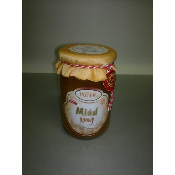 Pasieka Pucer Miód nektarowy lipowy 950g 1 szt.