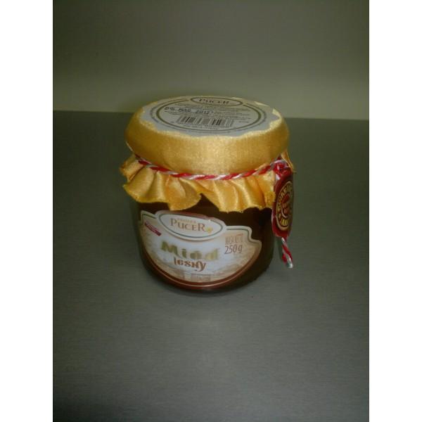 Pasieka Pucer Miód nektarowo-spadziowy leśny 250g 1 szt.