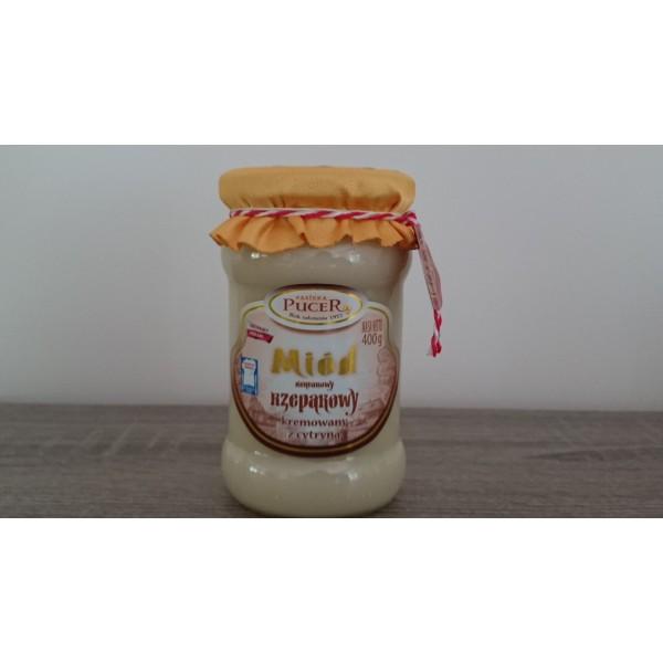 Pasieka Pucer Miód rzepakowy kremowany z cynamonem 400g