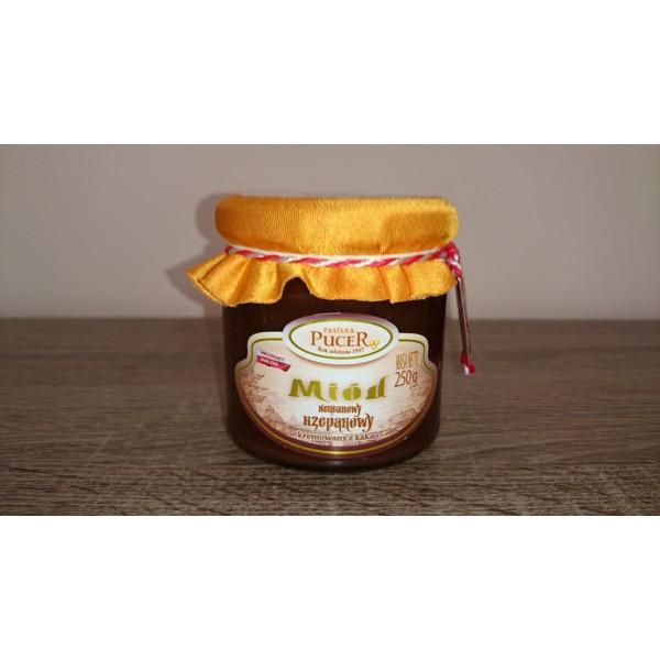Pasieka Pucer Miód rzepakowy kremowany z kakao 400g 1 szt.