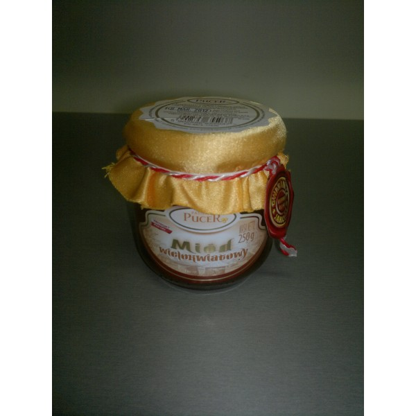 Pasieka Pucer Miód nektarowy wielokwiatowy 250g 1 szt.