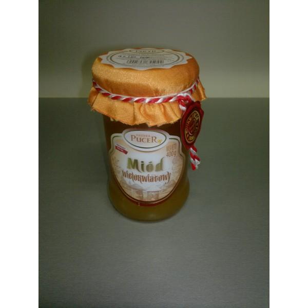 Pasieka Pucer Miód nektarowy wielokwiatowy 400g 1 szt.