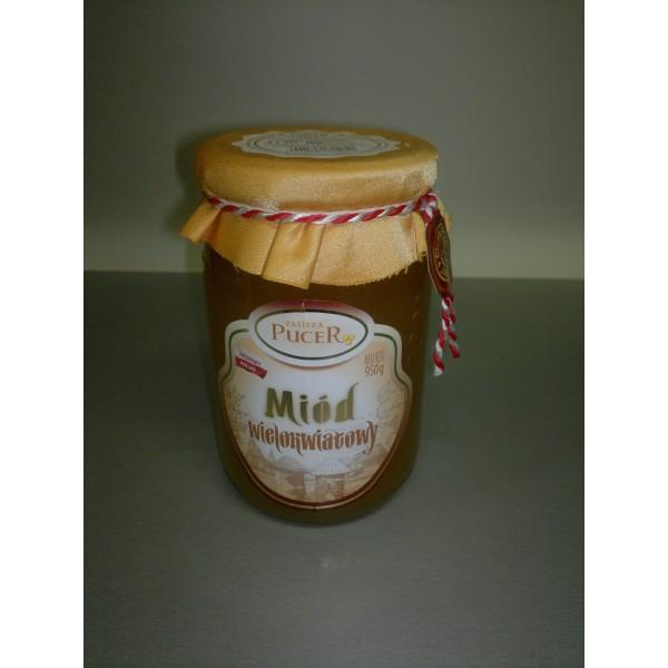 Pasieka Pucer Miód nektarowy wielokwiatowy 950g