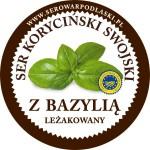 Ser koryciński z bazylią