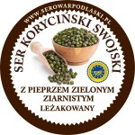 Ser koryciński z pieprzem zielonym ziarnistym 1kg
