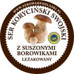 Ser koryciński z suszonymi borowikami 1kg