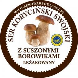 Ser koryciński z suszonymi borowikami