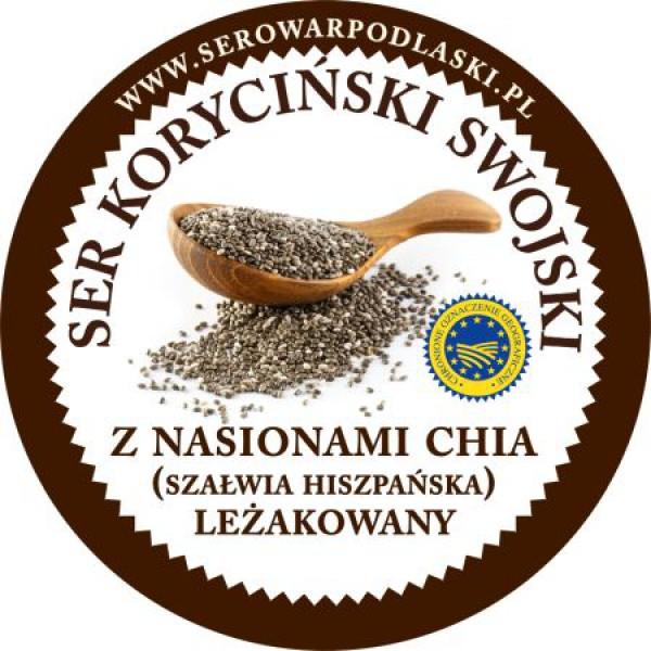 Ser koryciński z nasionami chia
