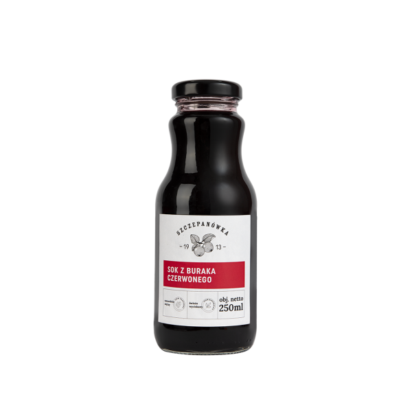 Szczepanówka Sok z buraka 250 ml