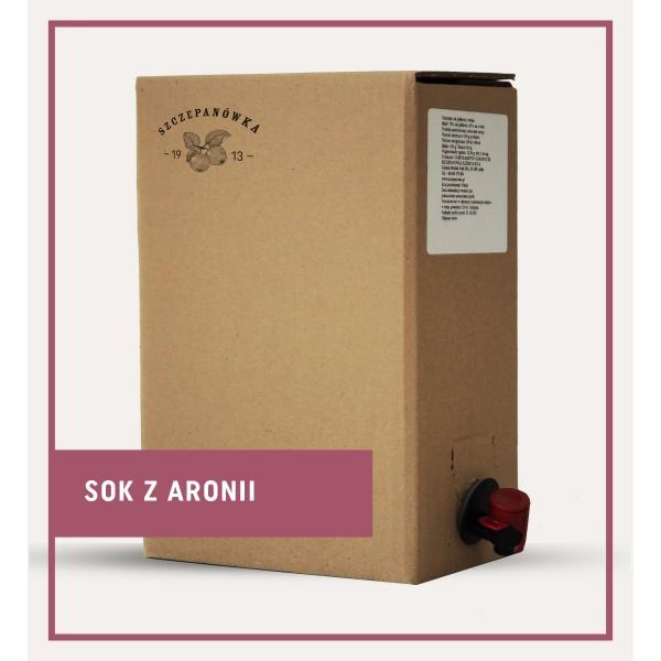 Szczepanówka Sok z aronii 3 L