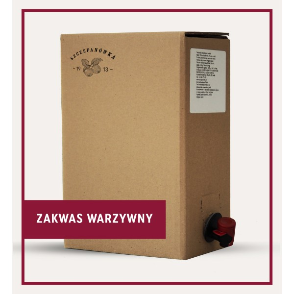 Zakwas warzywny (kiszony burak, marchew, pietruszka) 2 L