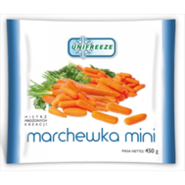 Unifreeze Mini marchewka mrożona 12 szt.